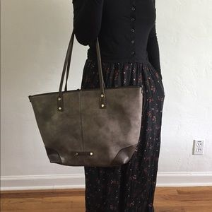 Handbags - Tote with extra crossbody bag